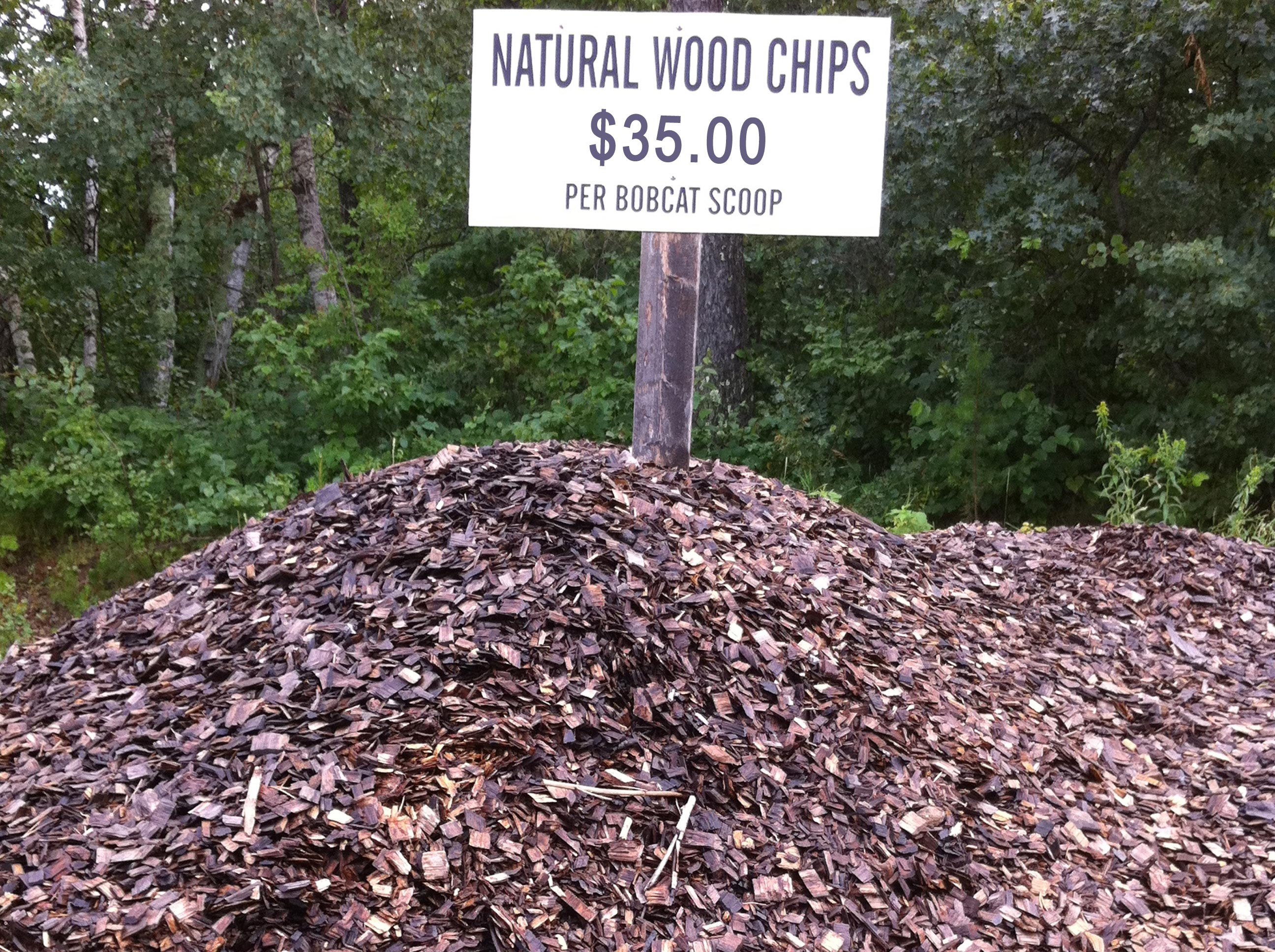 Wood Chips For Landscaping ~ Landscape mulch